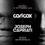 International Talent: Carl Cox b2b Joseph Capriati per l'apertura