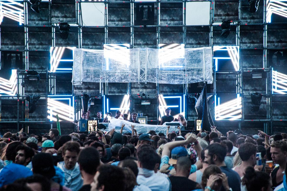 Primera edició del Festival DGTL a Barcelona.