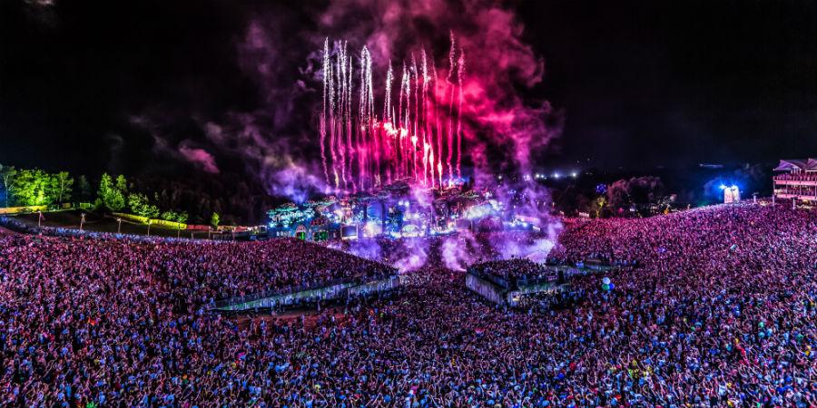 Tomorrowland 2016 foto bewerkt