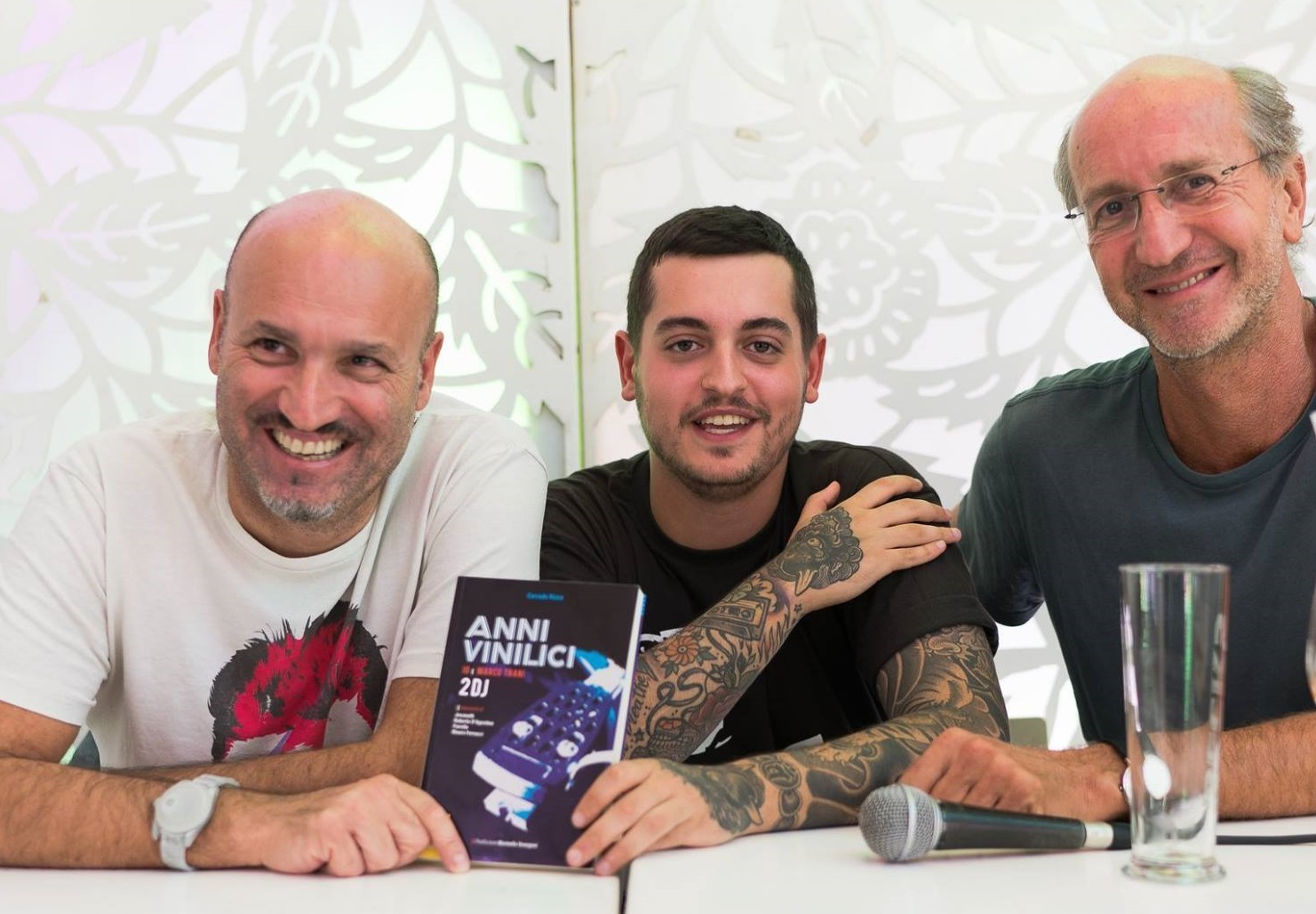 Corrado Rizza, Mattia Trani e Luca De Gennaro