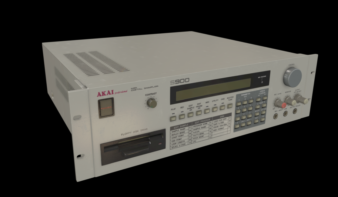 Akai S900, Swiss Museum - Center for Electronic Music Instruments (SMEM)