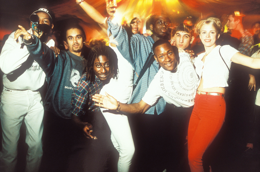 Clubbers 1996, Museum of Youth Culture PH Tristan O Neill