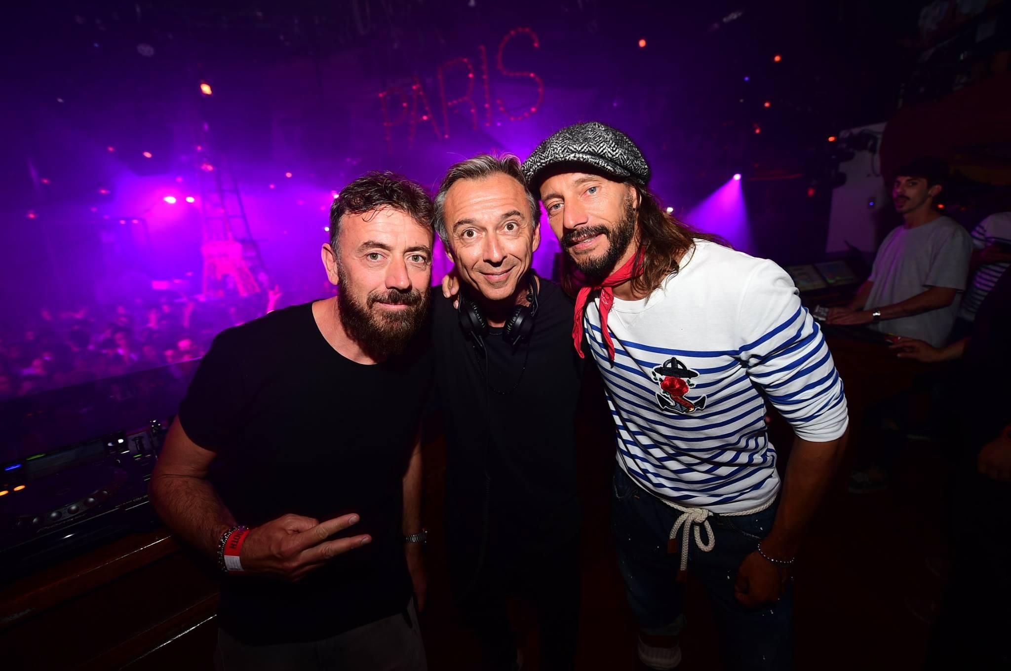 Benassi, Sinclar, Albertino