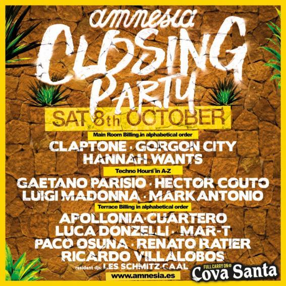 amnesia closing