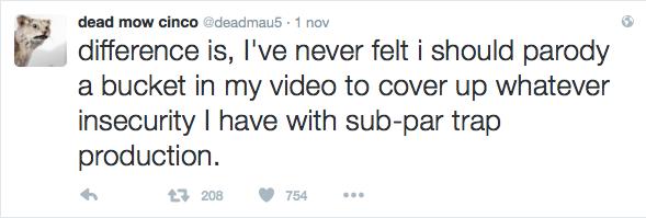 Il tweet di deadmau5 contro Marshmello