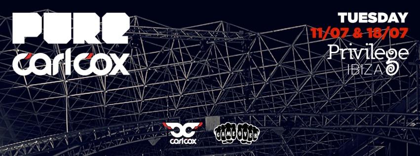 Carl Cox Pure Ibiza