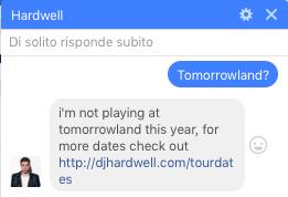 Hardwell Tomorrowland 2017