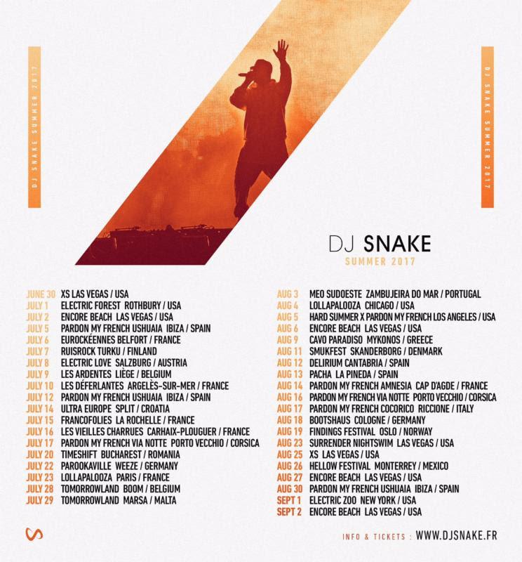 dj snake tour
